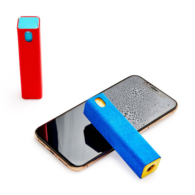 MoMA Touchscreen Mist Cleaner in color Blue