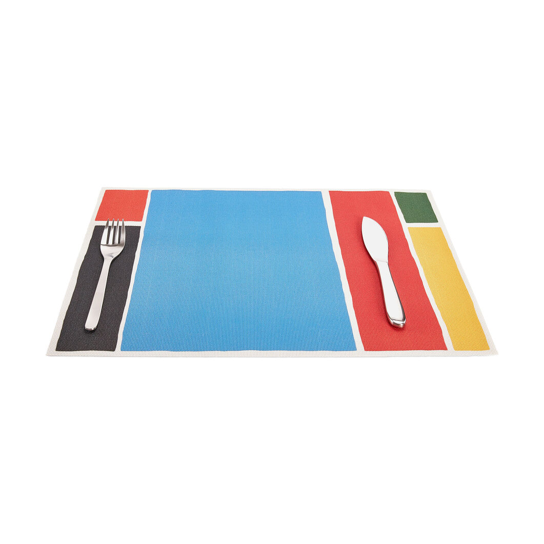 Chilewich Maptone Placemat in color Blue/ Multi