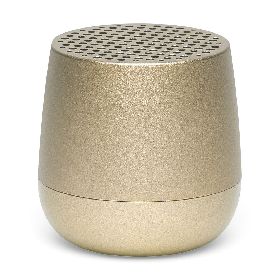 Lexon Mino Pairable Speaker in color Gold