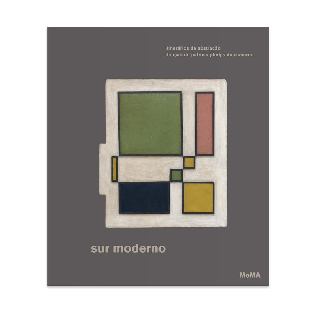 Sur moderno: Journeys of Abstraction— The Patricia Phelps de Cisneros Gift (Portuguese) - Hardcover in color
