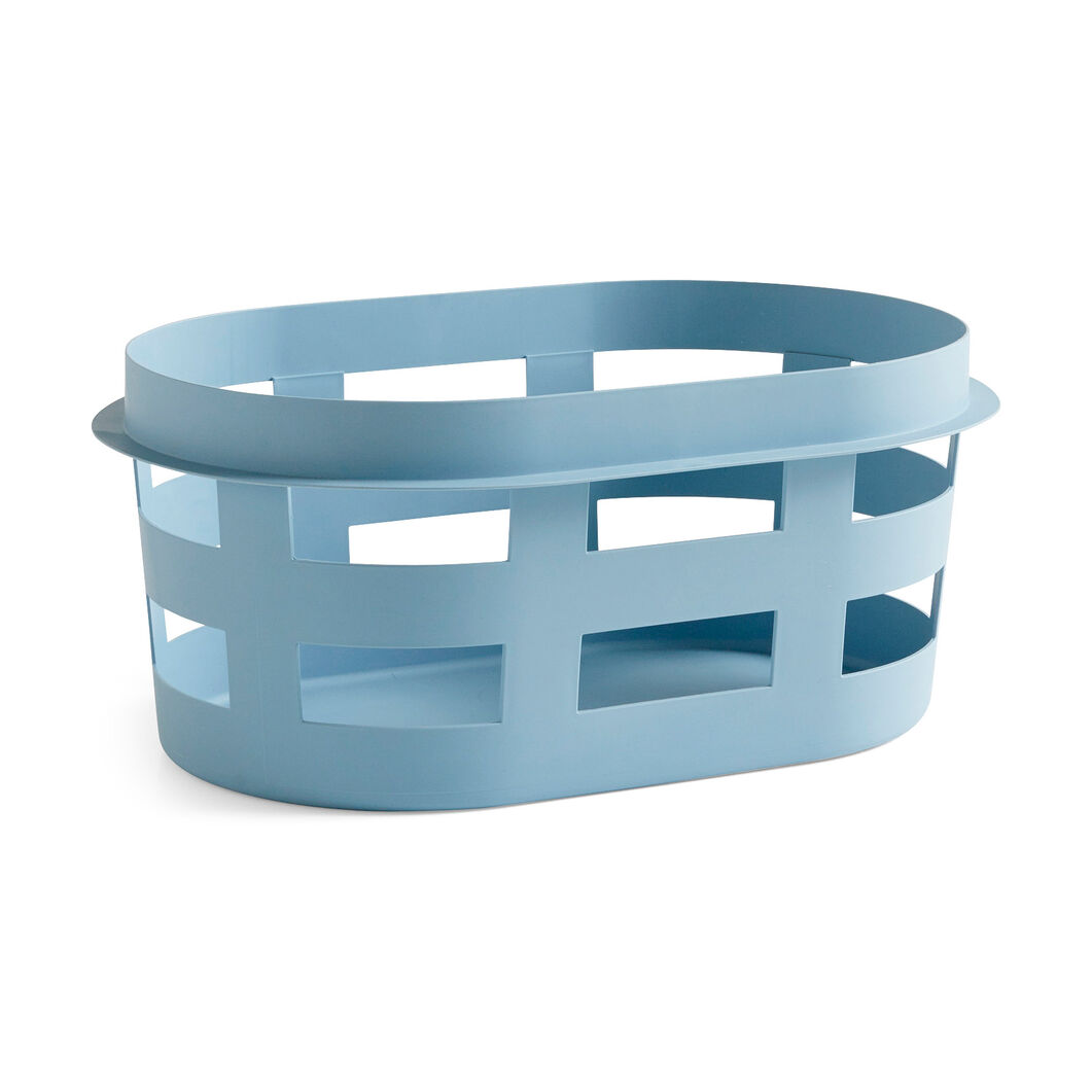 HAY Laundry Basket in color Soft Blue
