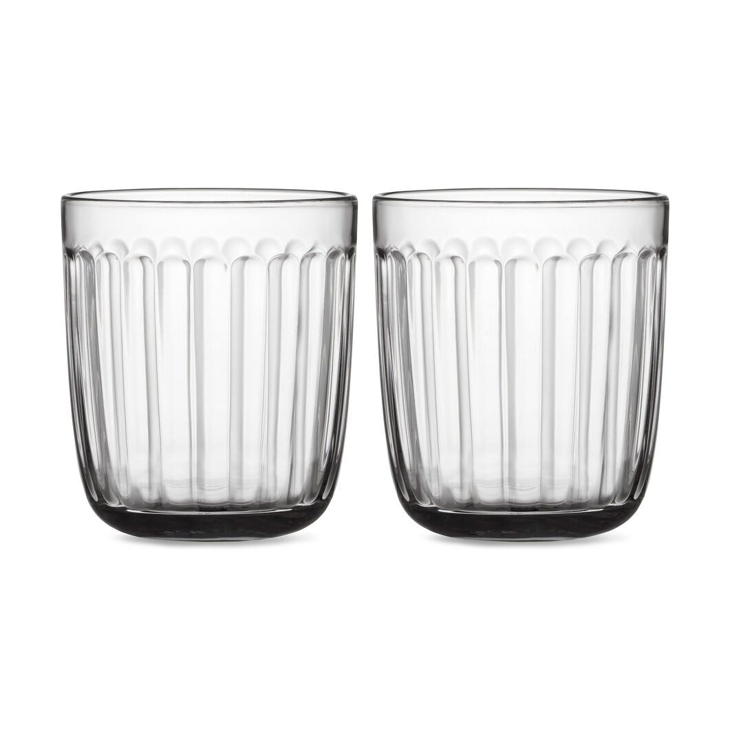 Iittala Raami Glass Tumbler - Set of Two in color Transparent