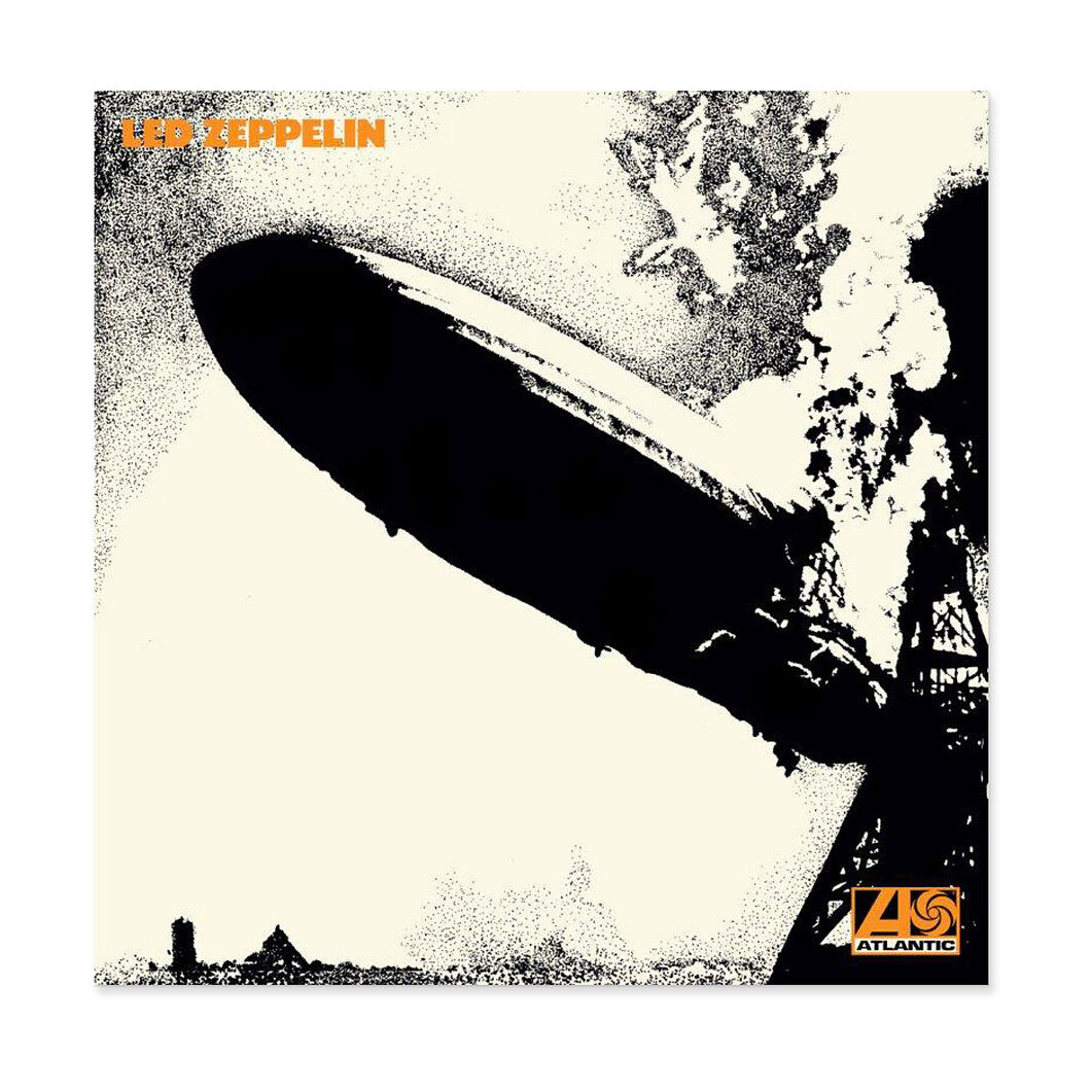 Led Zeppelin: Led Zeppelin 1 Vinyl Record in color
