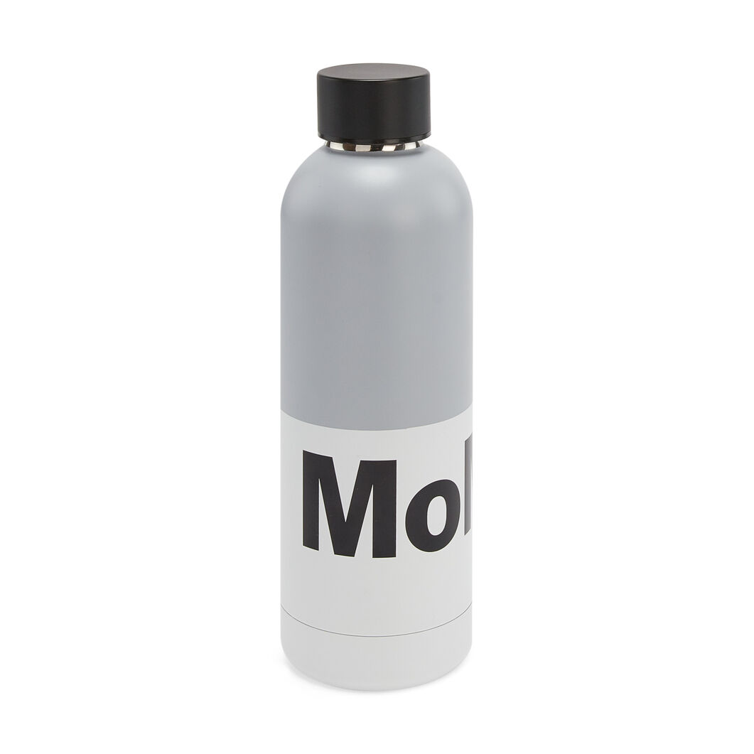 MoMA Water Bottle in color Grey/ Black