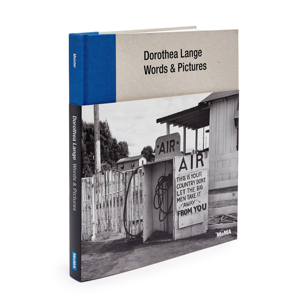 Dorothea Lange: Words & Pictures - Hardcover in color