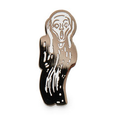 Edvard Munch: The Scream Enamel Pin in color