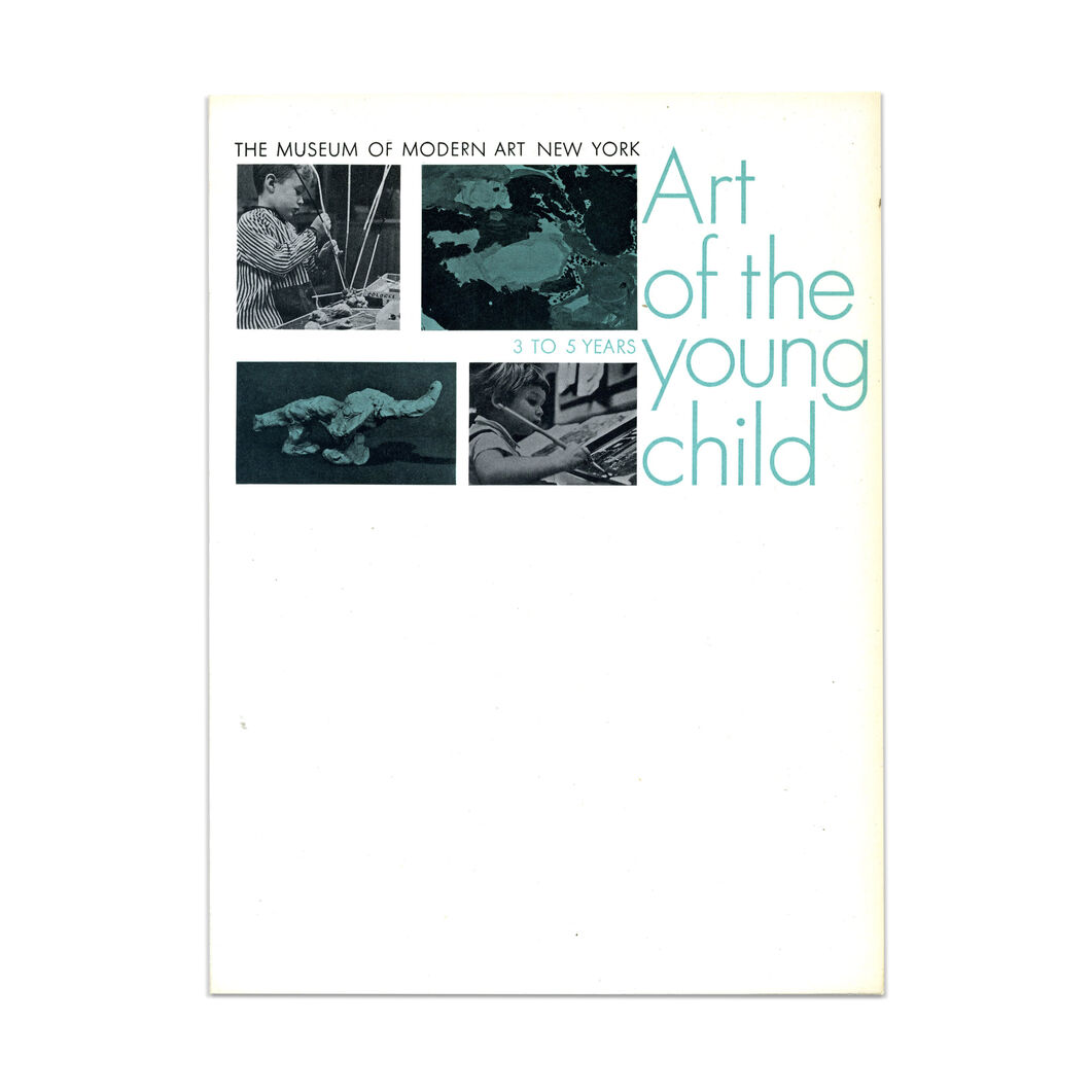 Art of the Young Child (2nd printing) - Paperback in color