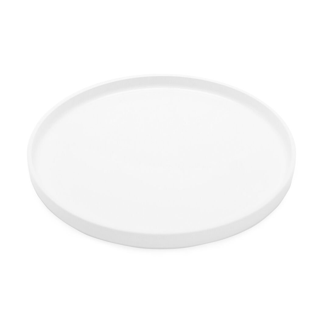 Stackable Dinnerware  Salad Plate in color White