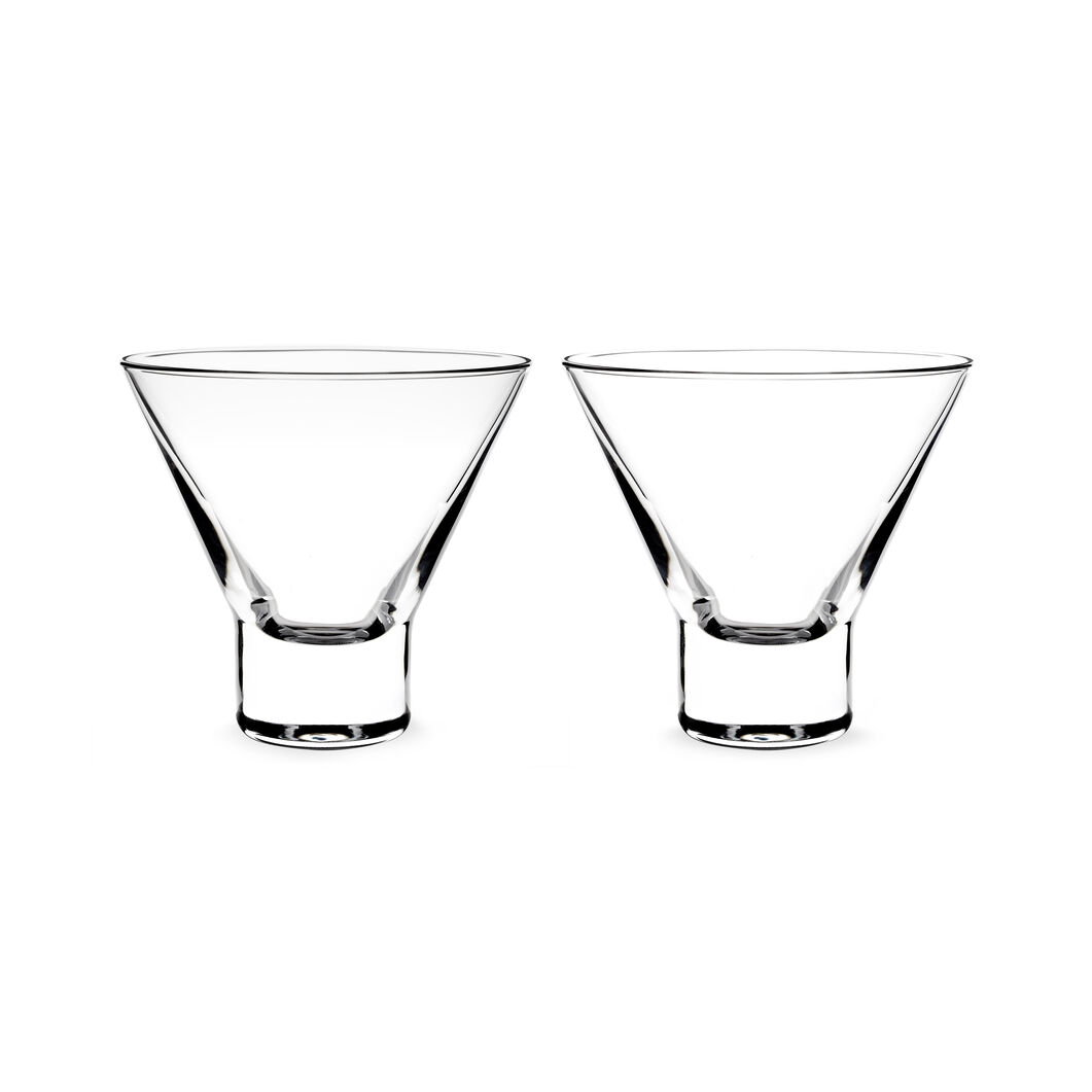 Aarne Crystal Cocktail Glasses in color