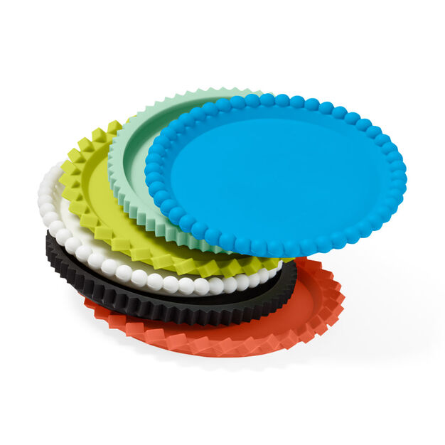 Geo Stacking Coasters - Primary in color Primary