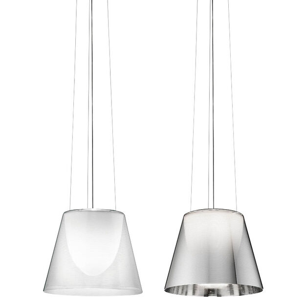 Ktribe S2 Halogen Pendant Light in color Silver