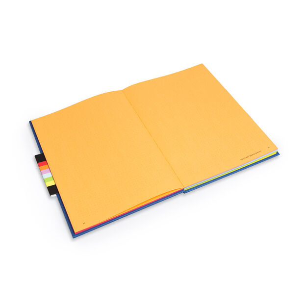 Bright Ideas Productivity Journal Activity Book - Hardcover in color