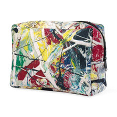 Pollock White Light Pouch in color