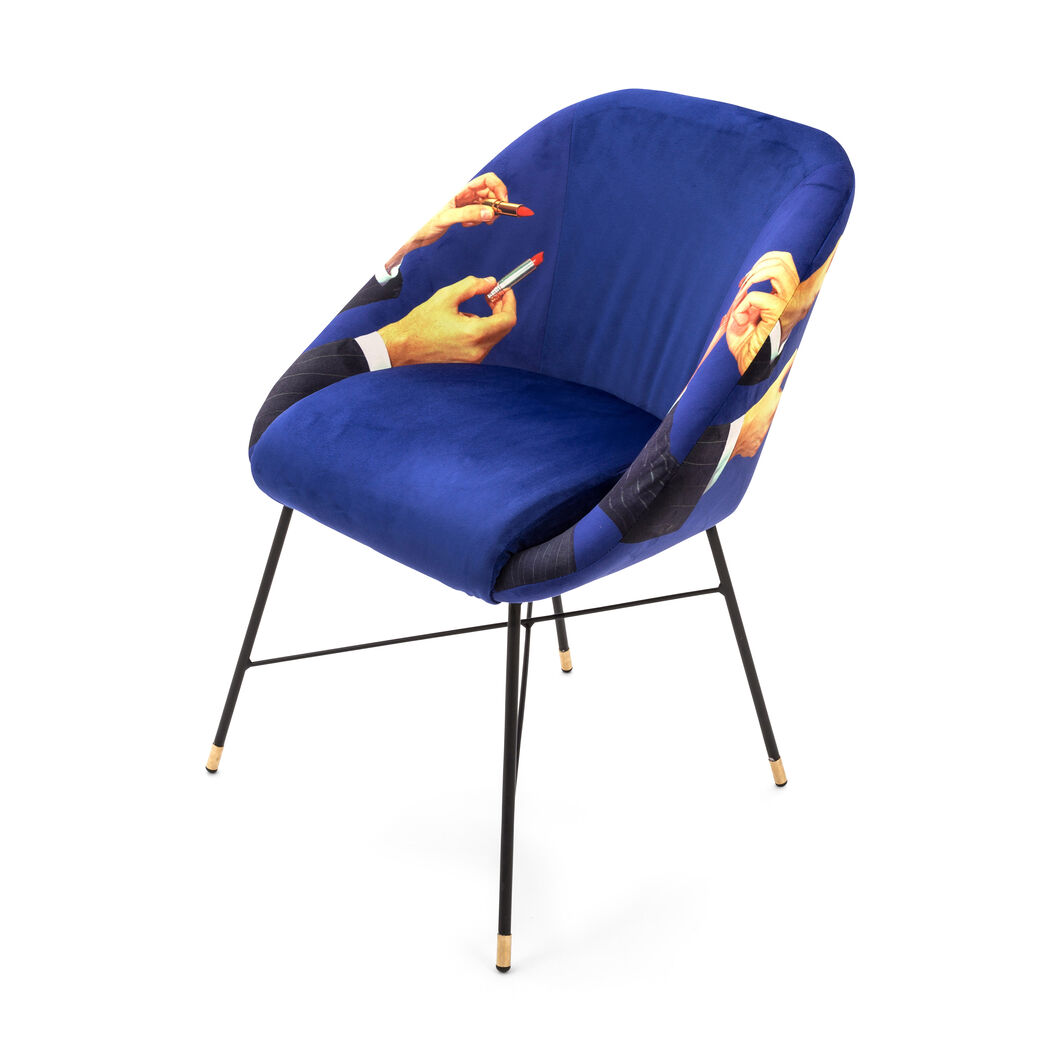 Seletti Wears Toiletpaper: Lipsticks Chair in color