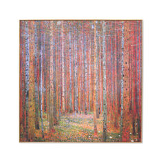 Klimt: Tannenwald I Framed Print in color