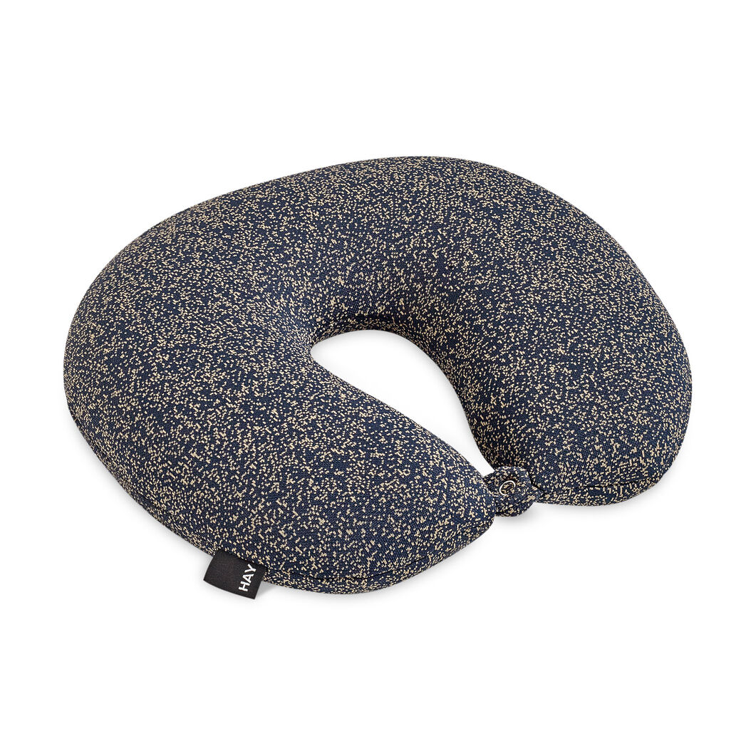 HAY Sleep Well Travel Pillow - Blue in color Blue