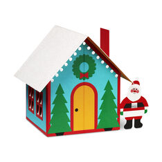 Santa's House Holiday Cards in color