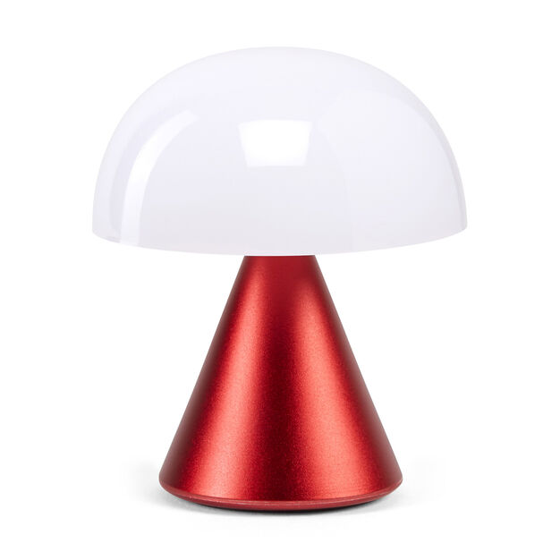 Lexon Mina LED Portable Lights in color Red