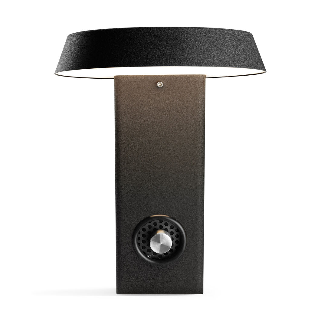 Model 607 Table Lamp  Grey in color