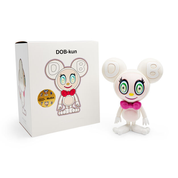 Murakami DOB-kun Figure in color White