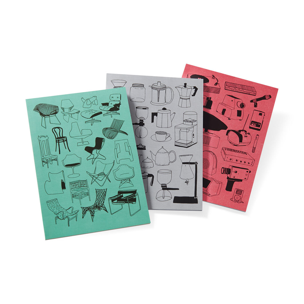 Lisa Congdon Notebook Set in color
