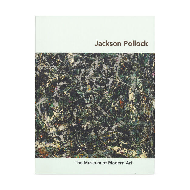 Jackson Pollock Paperback Book in color