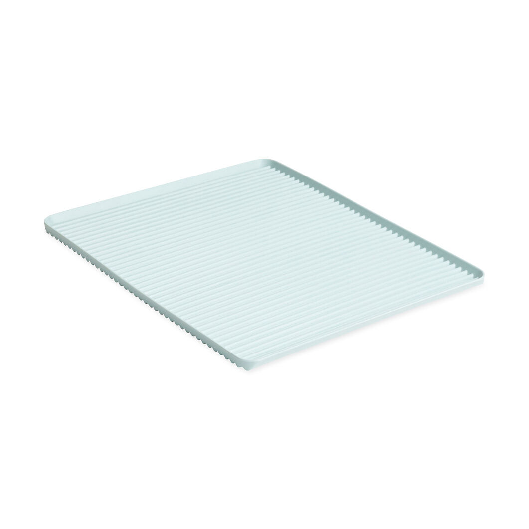 HAY Dish Drainer Tray in color Light Blue
