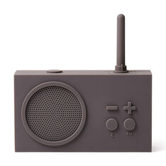 Lexon Tykho 3 Bluetooth Radio in color Light Gray