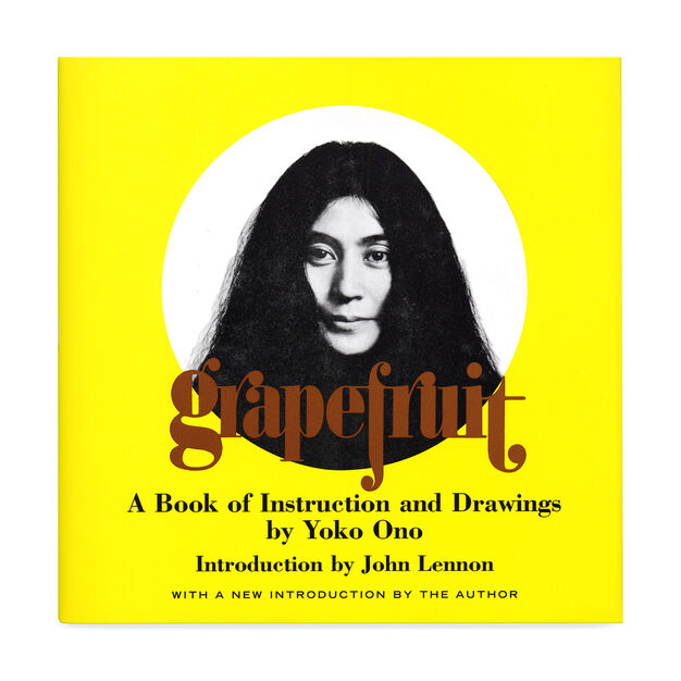 Grapefruit: A Book of Instructions and Drawings by Yoko Ono in color