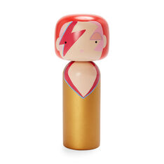 Kokeshi Wooden Ziggy Doll in color