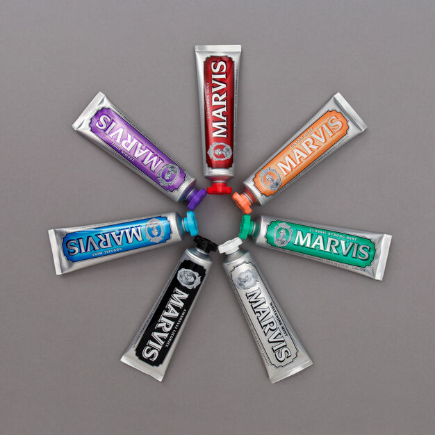 Marvis Toothpaste in color Jasmin