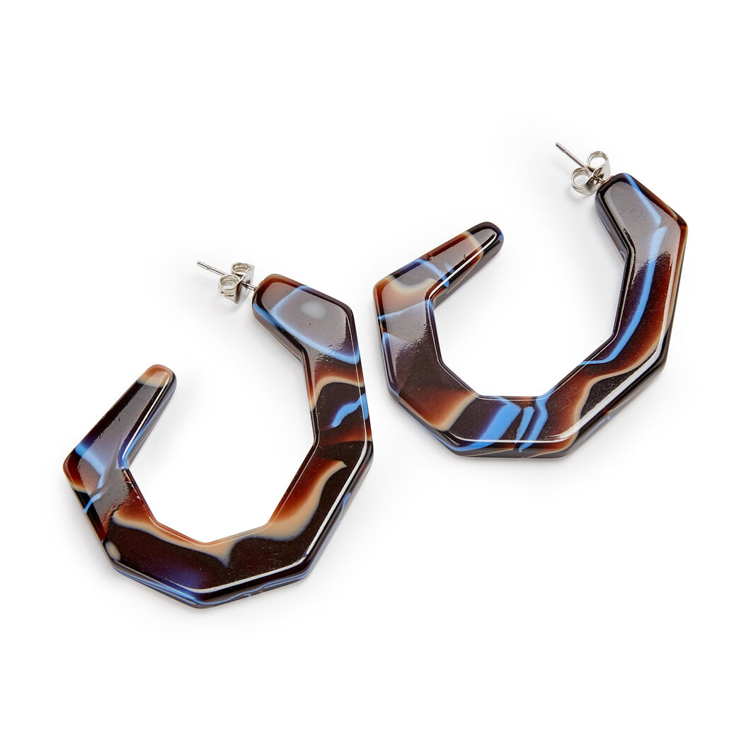 Rachel Comey Baby Factor Earrings in color Brown