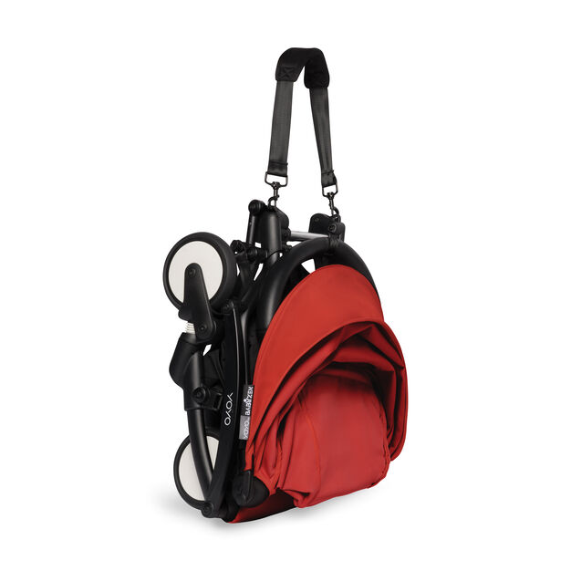 """<div>Babyzen™ <span style=""""font-weight: 400;"""">YOYO<sup><span style=""""font-weight: 400;"""">2</span></sup></span> 6+ Complete Stroller</div> in color Red/ Black"""