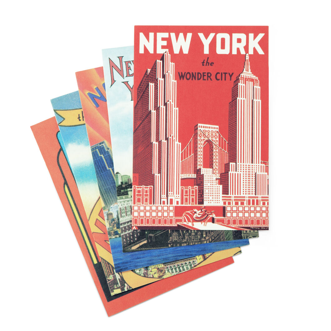 Vintage New York Postcards in color