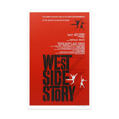 West Side Story Poster in color