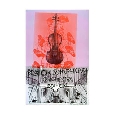 Robert Rauschenberg: Boston Symphony Poster in color