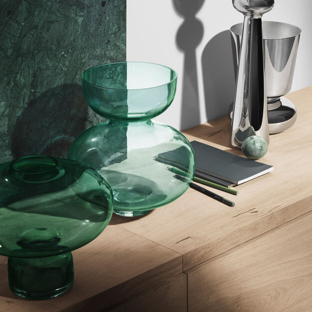 Alfredo Vases in color Green