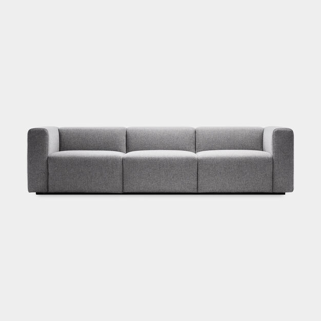 HAY Mags Three-Seater Sofa in color Gray