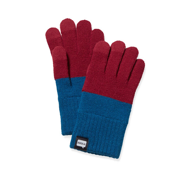 Touch Gloves Red and Blue in color