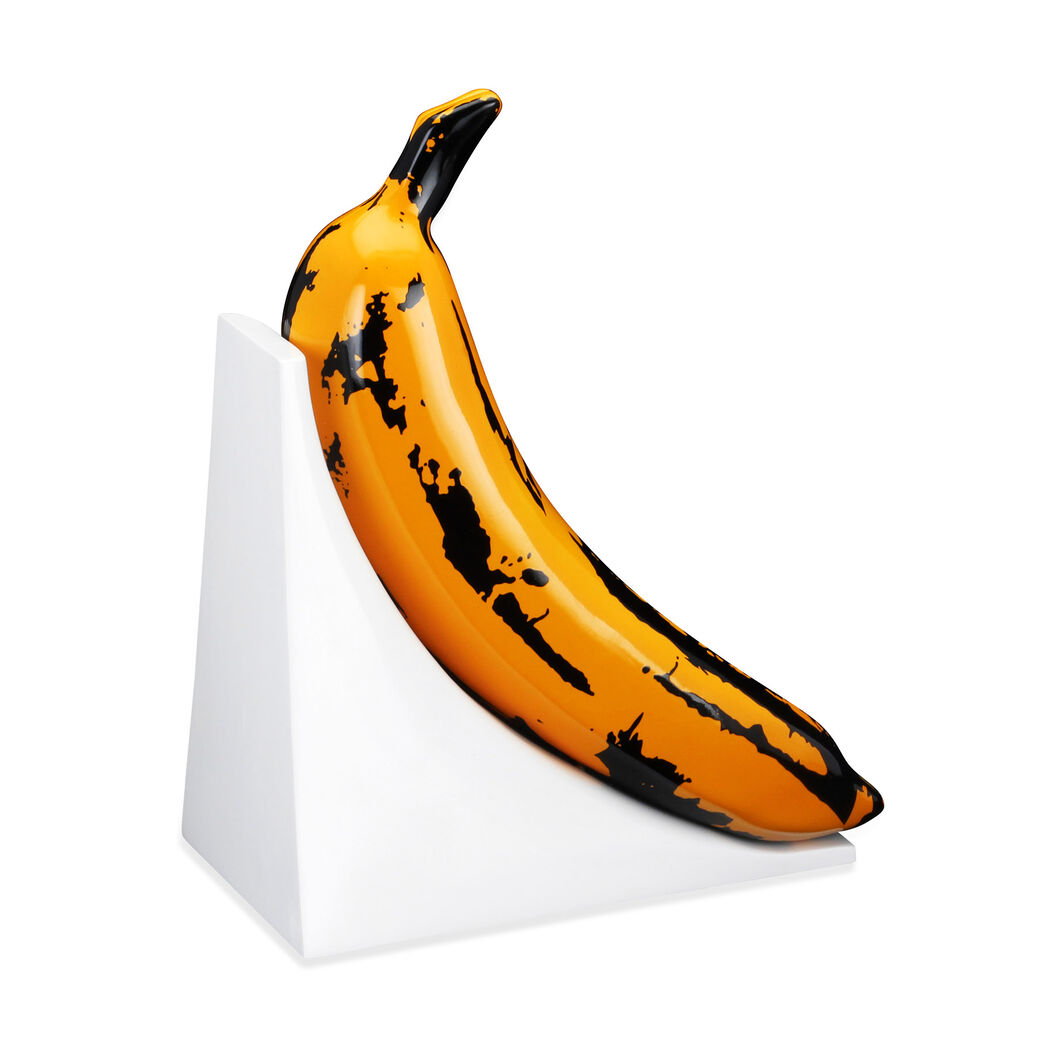 Kidrobot Andy Warhol Banana Bookends - Set of 2 in color
