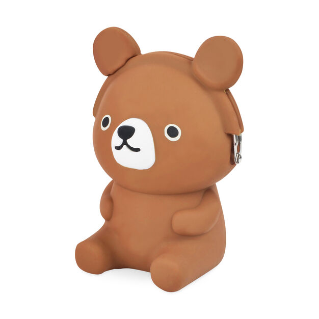 Brown Bear 3D Pouch in color