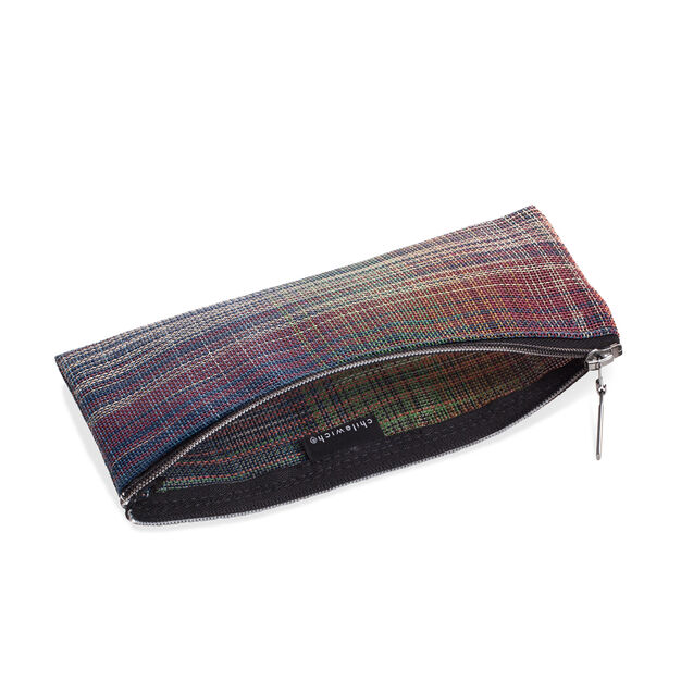 Chilewich Zips & Totes - Plaid Zip in color Multi