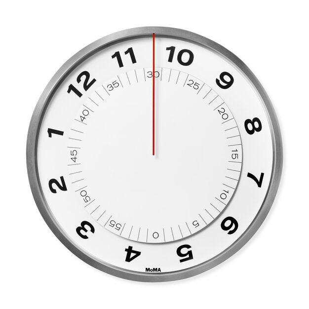 Dial Wall Clock in color