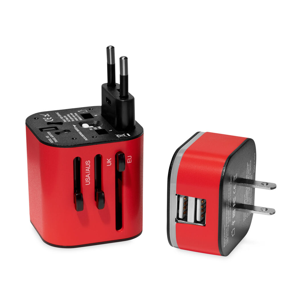 Travel Adapter in color