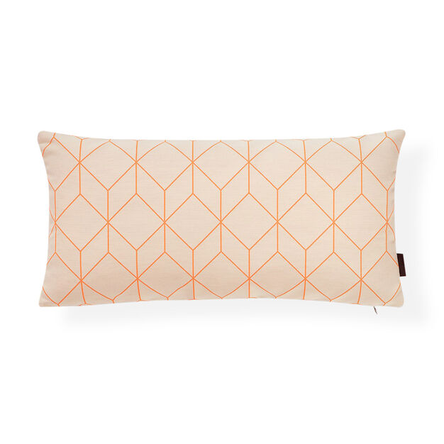 Bright Cube Crush Pillow in color