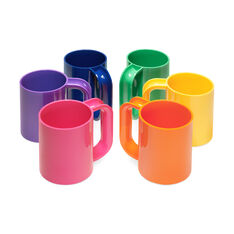 Rainbow Mugs in color