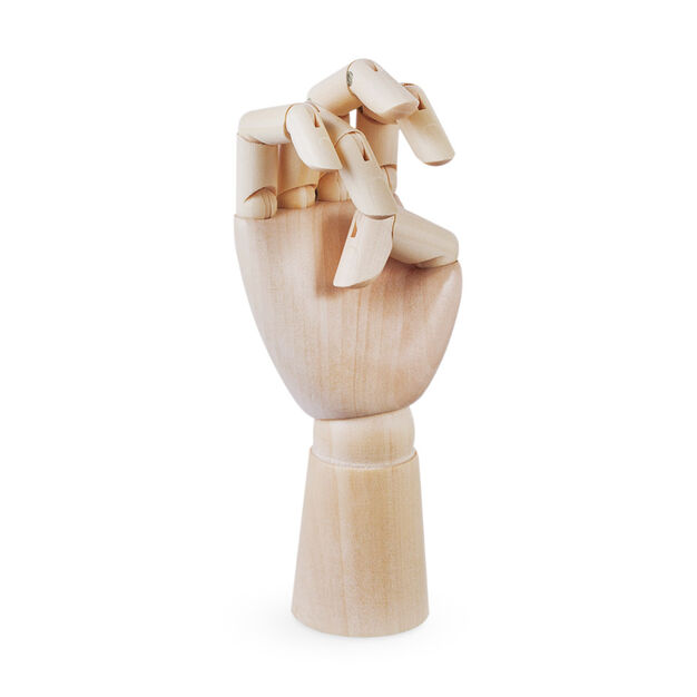 HAY Wooden Hand in color Brown