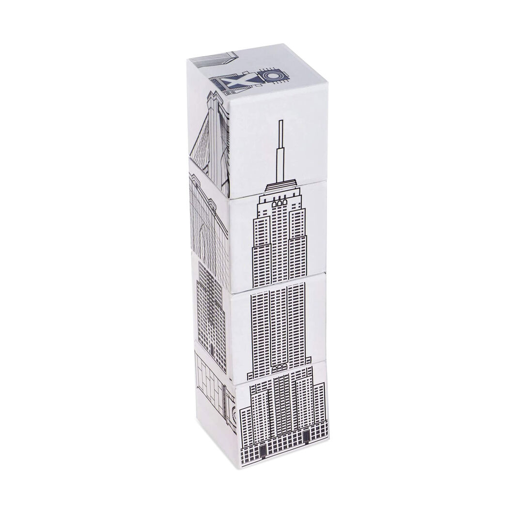 NYC Magnetic Puzzle Blocks in color