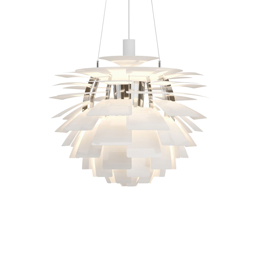 PH Artichoke Pendant Lamp in color White