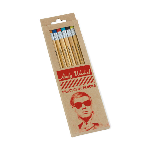 Andy Warhol Philosophy Pencils in color